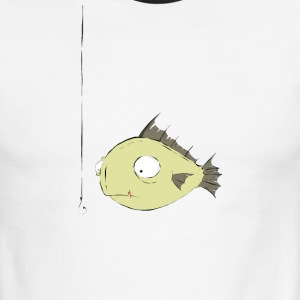 Hooked by www.orriart.com - Men's Ringer T-Shirt