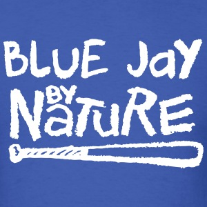 Blue Jay By Nature T-Shirts - Men's T-Shirt