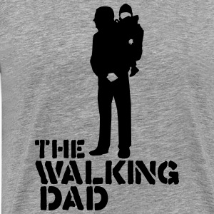 the walking dad T-Shirts - Men's Premium T-Shirt