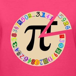Piece of Pi - Women's V-Neck T-Shirt