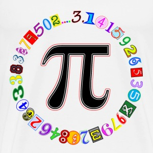 Circle of Pi - Men's Premium T-Shirt