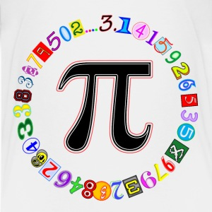 Circle of Pi - Kids' Premium T-Shirt