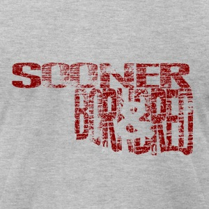 Sooner Born & Bred T-Shirts - Men's T-Shirt by American Apparel