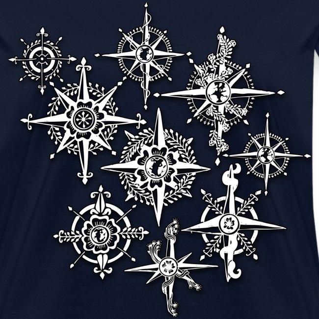 Neo-Henna Compasses