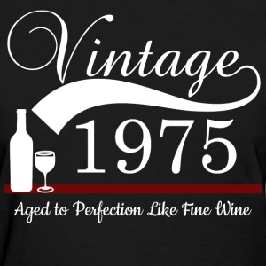 1975 Aged to Perfection - Women's T-Shirt