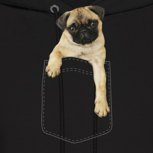 Dog in pocket Hoodies - Men's Hoodie