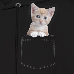 Cat pocket Hoodies - Men's Hoodie