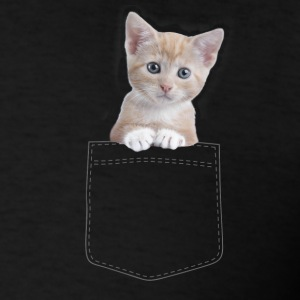 Cat pocket T-Shirts - Men's T-Shirt