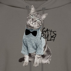 Cats Rule! Hoodies
