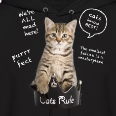 Cats Rule Hoodies