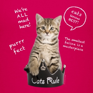 Cats Rule Kids' Shirts - Kids' Premium T-Shirt