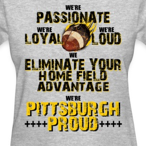 Pittsburgh Passion Ladies Tshirt - Women's T-Shirt