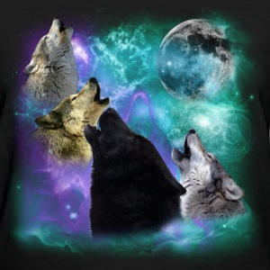 Wolves Coven Emeral night Women's T-Shirts - Women's T-Shirt