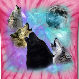 Wolves Coven Emeral night T-Shirts - Unisex Tie Dye T-Shirt