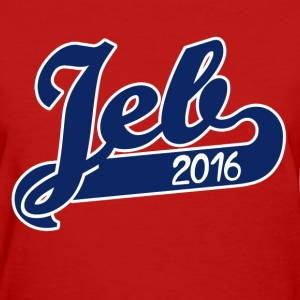 Jeb Bush 2016 republican - Women's T-Shirt