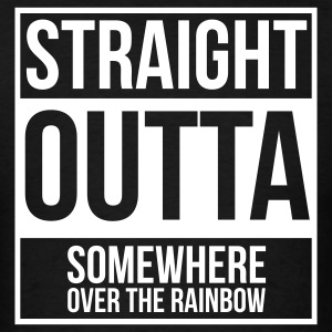 Straight Outta Somewhere Over the Rainbow - Men's T-Shirt
