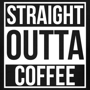 Straight Outta Coffee - Men's T-Shirt
