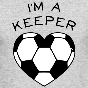 I'M A KEEPER Long Sleeve Shirts - Men's Long Sleeve T-Shirt by Next Level