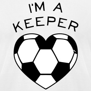 I'M A KEEPER T-Shirts - Men's T-Shirt by American Apparel