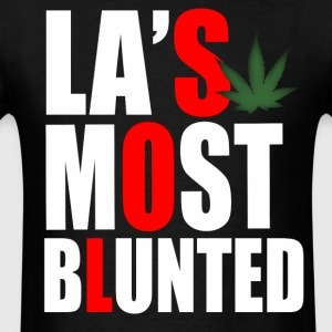 La's Most Blunted - Stay Blunted - Men's T-Shirt