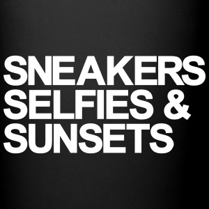 Sneakers Selfies Sunset Mugs & Drinkware - Full Color Mug