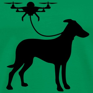drone dog T-Shirts - Men's Premium T-Shirt