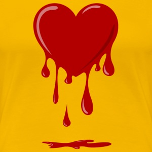 bleeding heart Shirt - Women's Premium T-Shirt