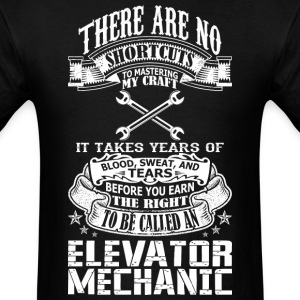 An Elevator Mechanic T-Shirts | Spreadshirt