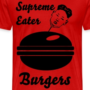 Supreme leader eater. - Men's Premium T-Shirt