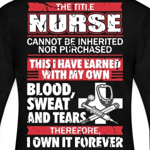 I'm a Nurse, Nursing, registered nurse - Women's Long Sleeve Jersey T-Shirt