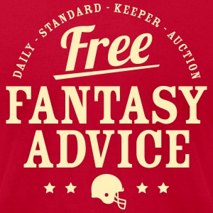 Free Fantasy Football Advice - Men's T-Shirt by American Apparel