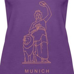 Bavaria in Munich Tanks - Women's Premium Tank Top