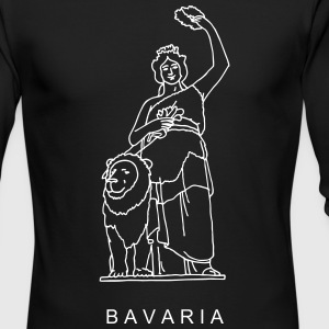 Bavaria in Munich Long Sleeve Shirts - Men's Long Sleeve T-Shirt by Next Level