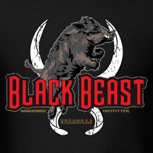 black beast T-Shirts - Men's T-Shirt