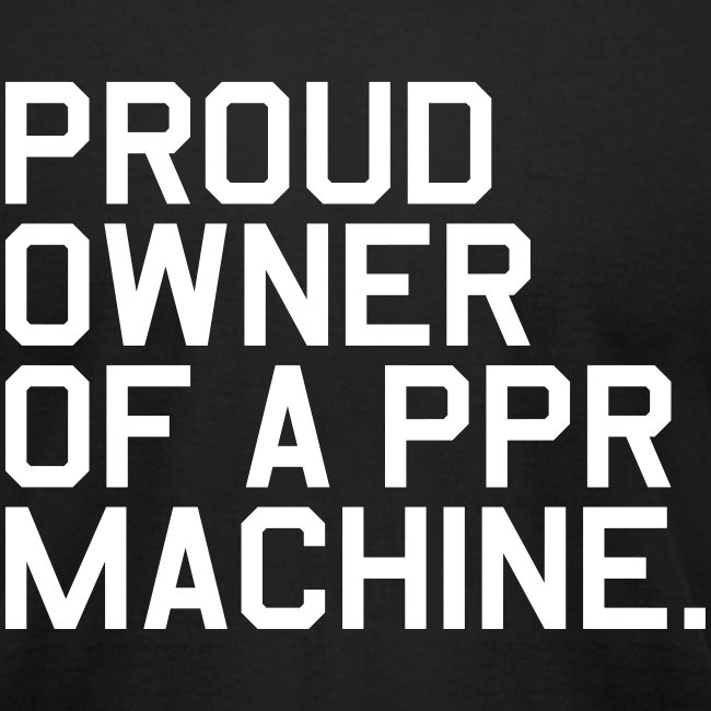 Proud Owner of a PPR Machine. (Fantasy Football)
