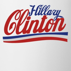 Hillary Clinton 2016 retro politics - Coffee/Tea Mug
