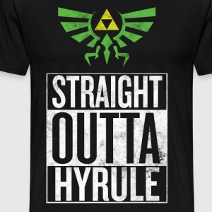 Straight Outta Hyrule V3 - Men's Premium T-Shirt