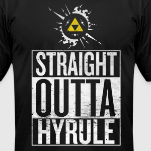 Straight Outta Hyrule - Men's T-Shirt by American Apparel