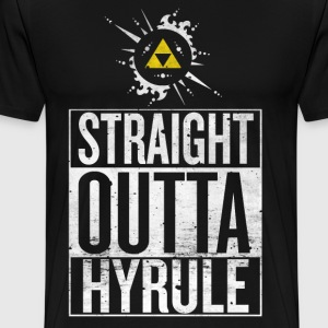 Straight Outta Hyrule - Men's Premium T-Shirt