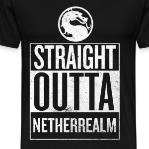 Straight Outta NetherReam - Men's Premium T-Shirt