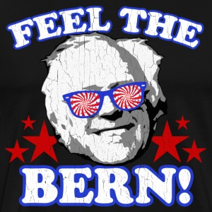 Feel the BERN! (vintage distressed look) - Men's Premium T-Shirt