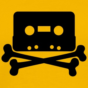 cassette jolly roger - Men's Premium T-Shirt