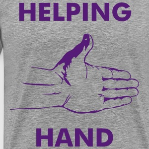 Helping hand. - Men's Premium T-Shirt