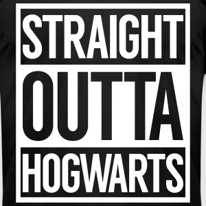 STRAIGHT OUTTA HOGWARTS T-Shirts - Men's T-Shirt by American Apparel