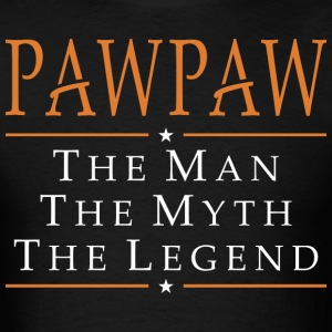 Pawpaw The Man The Myth The Legend - Men's T-Shirt