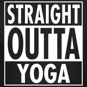 Straight Outta Yoga Long Sleeve Shirts - Men's Long Sleeve T-Shirt by Next Level