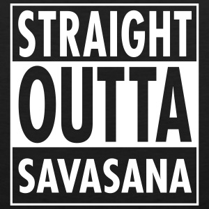 Straight Outta Savasana Tank Tops - Men's Premium Tank