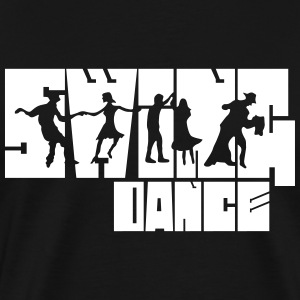 Swing Dance T-Shirts - Men's Premium T-Shirt