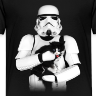 Design ~ Stormtrooper Cat - Toddler