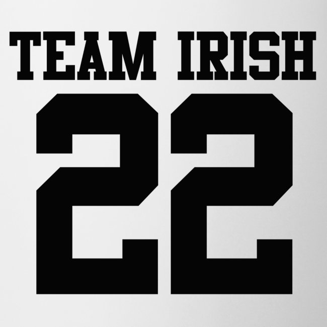 Team Irish Mug